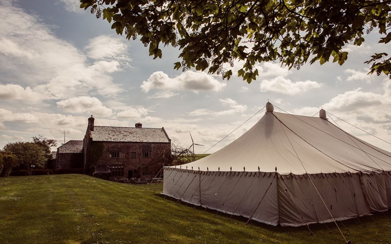 Ashbarton Estate - Ash Barton wedding venue Devon marquee